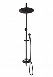 Alessandra Black - retro shower faucet