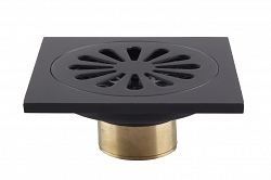 Trapik - black shower drain