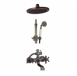 Orfeo - shower brass set